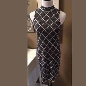 Romeo & Juliet Couture Knit Mini Dress Diamond
